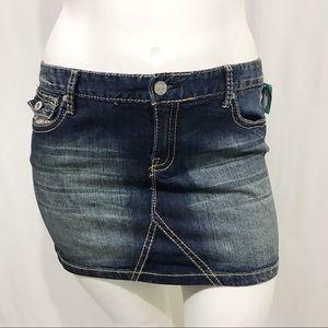 Maurices Denim Miniskirt